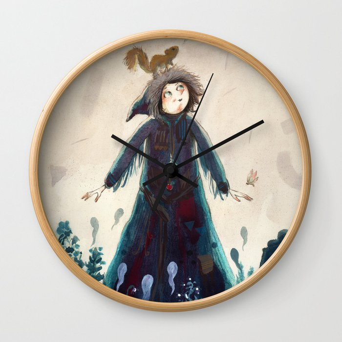 Declaration of winter Wall Clock