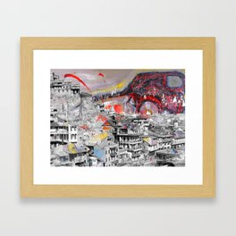 Tbilisi 3 Framed Art Print