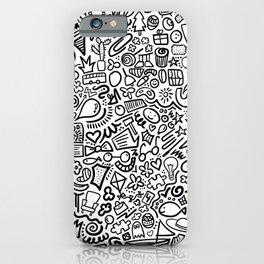 Hidden Images Doodle Art iPhone Case
