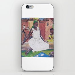 UGANDA Scene       by Kay Lipton iPhone Skin