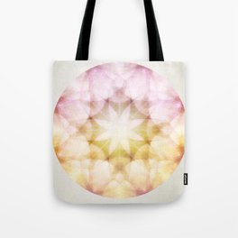 Colorful Petals Tote Bag