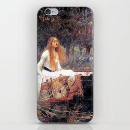 The Lady Of Shalott John William Waterhouse iPhone Skin