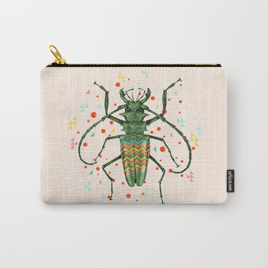 Insect V Carry-All Pouch