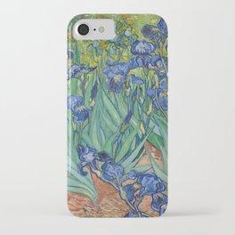 Irises by Vincent van Gogh iPhone Case