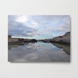 Over the Water, Florence Metal Print