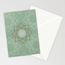Sage Mendala Stationery Cards