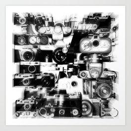analogue legends II Art Print