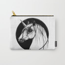 Black Unicorn - Through the Black Carry-All Pouch