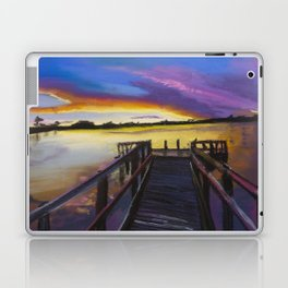 Shelley Bridge Sunset Laptop & iPad Skin