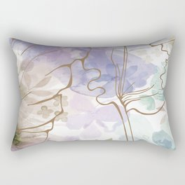 Posy Cluster -- muted Rectangular Pillow