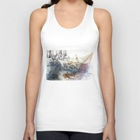 italy Tank Tops featuring italy dualism by Andreas Derebucha