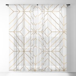 Luxury Ornaments 6 Sheer Curtain