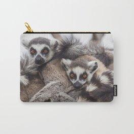 Lemur catta animals Carry-All Pouch
