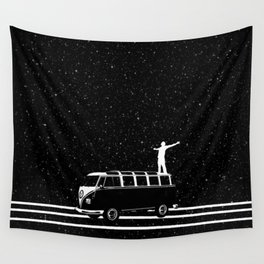 Starry Night Viewing Wall Tapestry