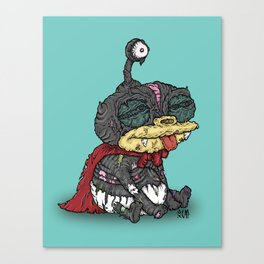 Zibbler Canvas Print