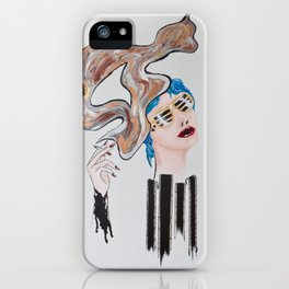Veronica Sawyer Smokes iPhone Case