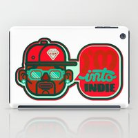 indie iPad Cases featuring I'm Into Indie by chobopop