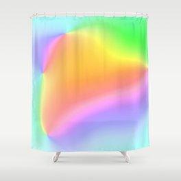Bright Prismatic Rainbow Design! Shower Curtain