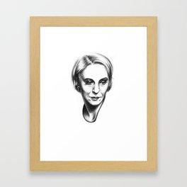 Amanda Abbington Framed Art Print