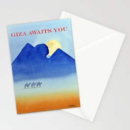 Giza By Moonlight Stationery Cards