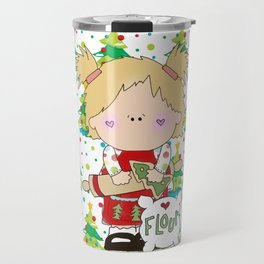 Cooking Christmas Cookies Travel Mug