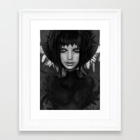angel Framed Art Prints featuring ANGEL by Giulio Rossi