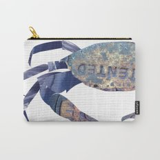 Manhole Crab with Lace Carry-All Pouch
