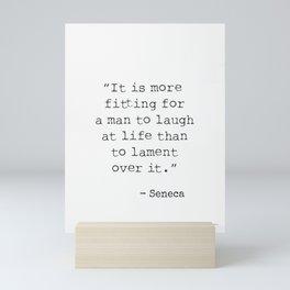 Seneca Roman Philosopher Mini Art Print