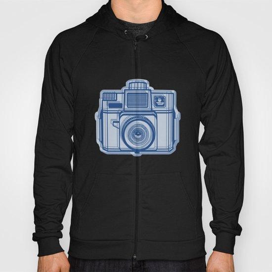 I Still Shoot Film Holga Logo - Reversed Blue Hoody