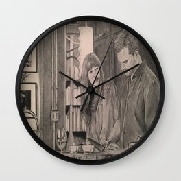 Fifty Shades Darker (In the kitchen) Wall Clock