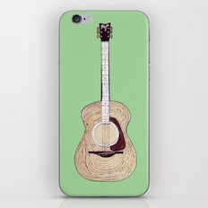 Acoustic Guitar iPhone & iPod Skin
