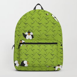 penguin in the woods Backpack