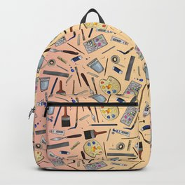 Painter's Supplies - Rose Gold Backpack