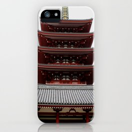 Five-storied Pagoda - Senso-ji iPhone Case