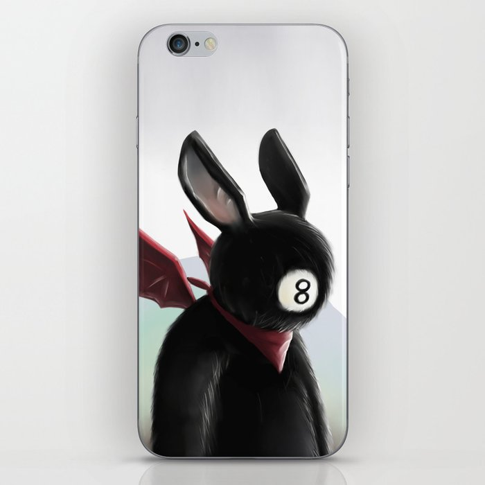 Eightball demon iPhone Skin