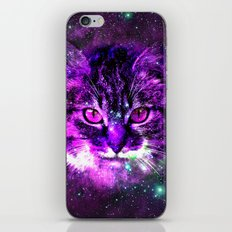 Hipster Cat iPhone Skin