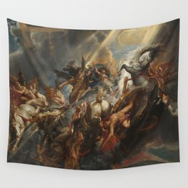 The Fall of Phaeton Oil Painting by Sir Peter Paul Rubens Wall Tapestry