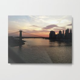 LES in the Sunset Metal Print