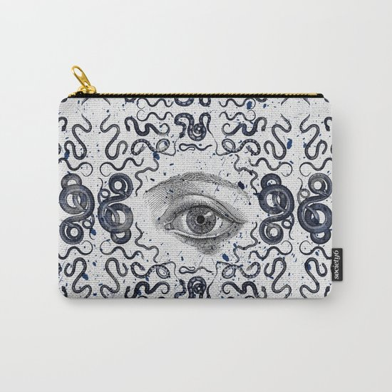 DEVIL EYE Carry-All Pouch