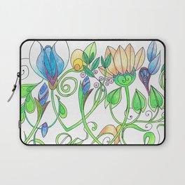Flower Freize Laptop Sleeve