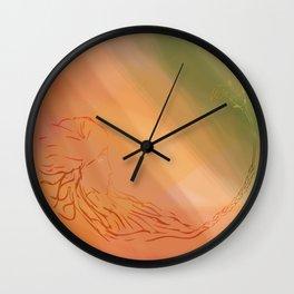 La pena negra Wall Clock