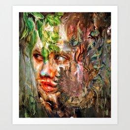 Hold Close Art Print