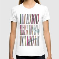 swimming T-shirts featuring Swimming by Lidia Ganhito