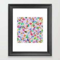 Revenge of the Scratches Framed Art Print