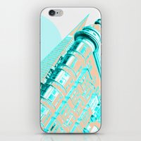 san francisco iPhone & iPod Skins featuring San Francisco by DM Davis