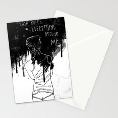Cash Rules Stationery Cards