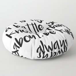 SKAM - Everyone you meet is fighting a battle you know nothing about Floor Pillow