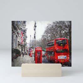 Streets of London Mini Art Print