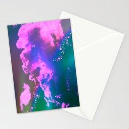 Strange Clouds Stationery Cards