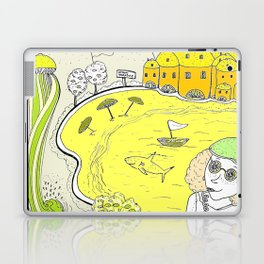 Lemon paradise Laptop & iPad Skin